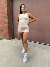 Load image into Gallery viewer, Got Your Back Knit Dress Ivory