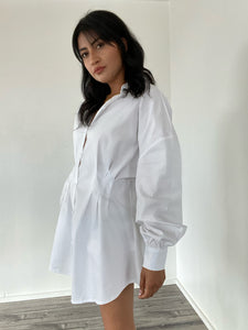 Take the Lead Oversized Shirt Dress