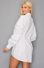 Load image into Gallery viewer, Take the Lead Oversized Shirt Dress