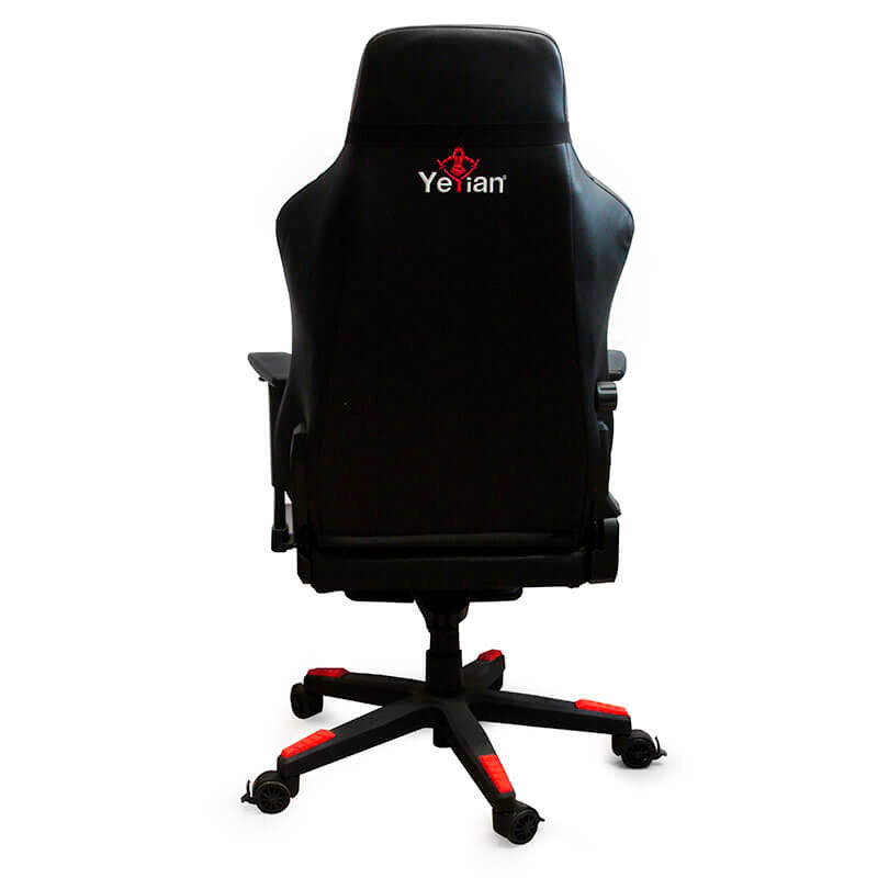 Silla Gamer YEYIAN Reclinable Rojo Fury (YAR-950R)