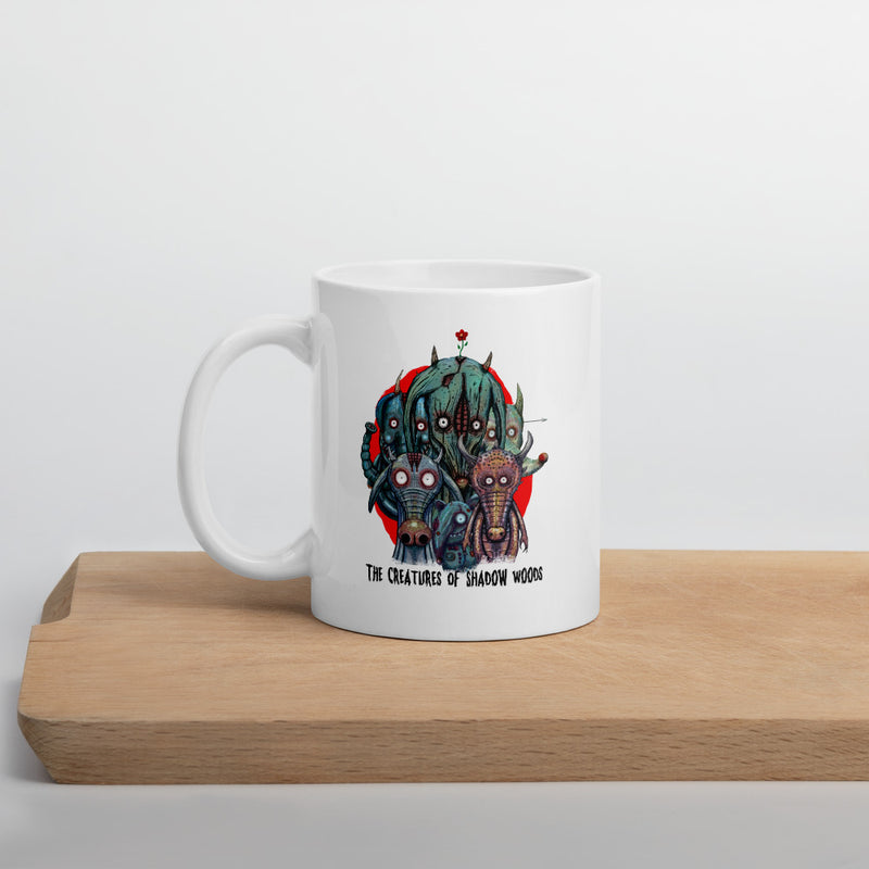 Creatures Of Shadow Woods Mug
