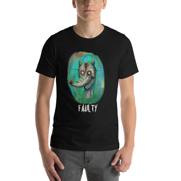 Faulty Fox Unisex T-Shirt