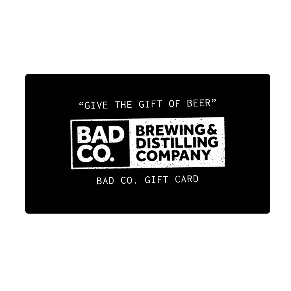BAD Co. Gift Card