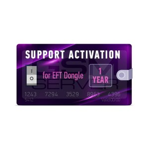 EFT Dongle 1 Year Support Activation