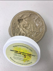 The Pomade Shop Growth Fundamentals Coffee Pomade