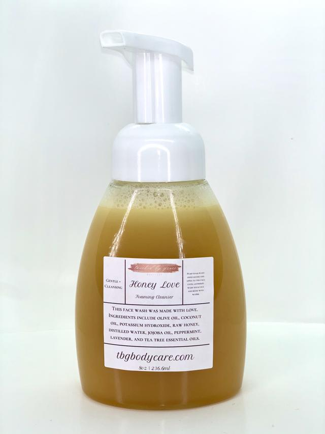 Touched By Grace Honey Love Foaming Facial Cleanser