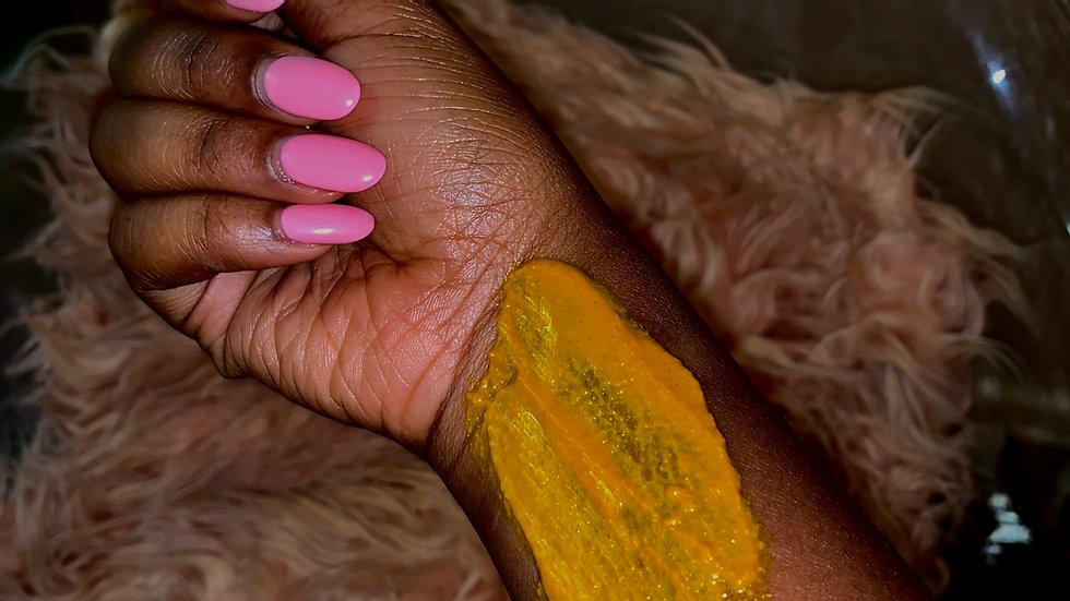 The Scrub Factory Turmeric Scar Mask