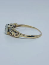 Load image into Gallery viewer, Jewel Thierry Vintage Diamond and 14K Gold Rings