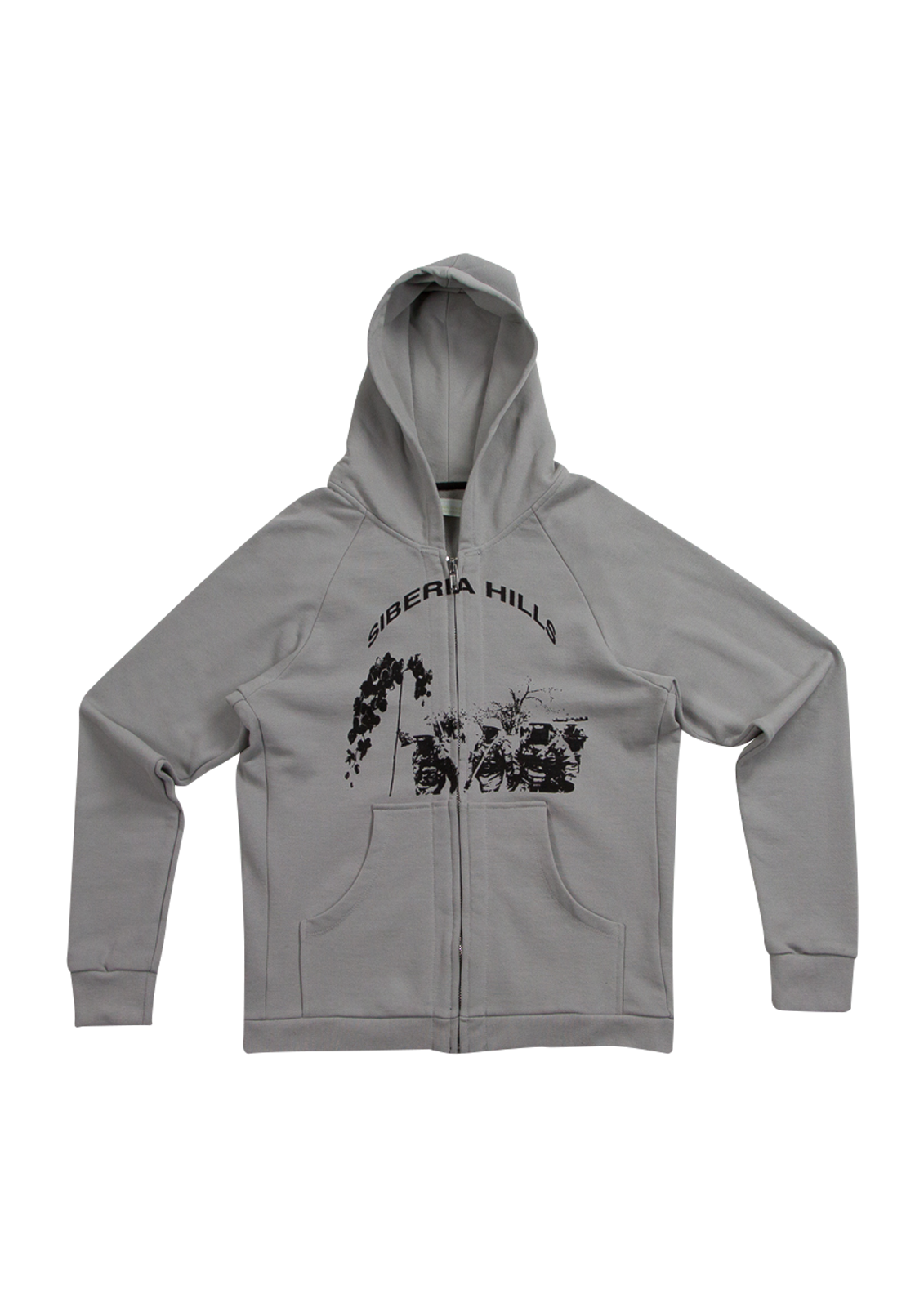 Siberia Zip-Up Hoodie - Grey