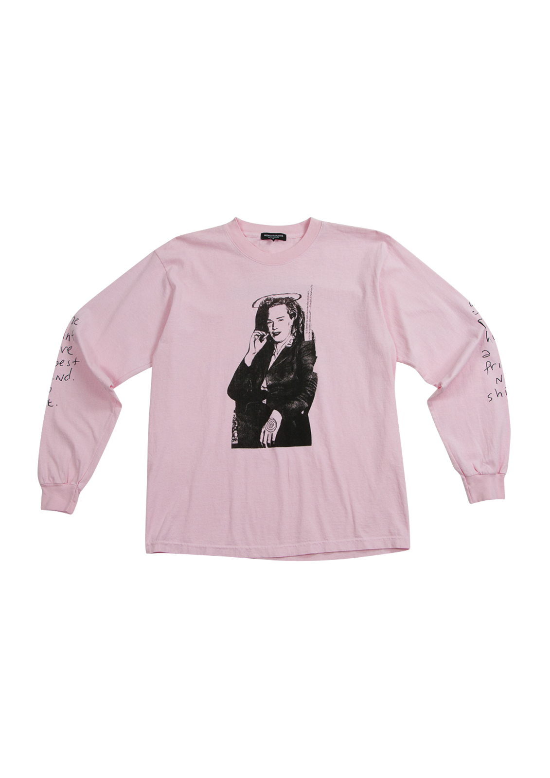 Best Friend L/S T-Shirt - Pink