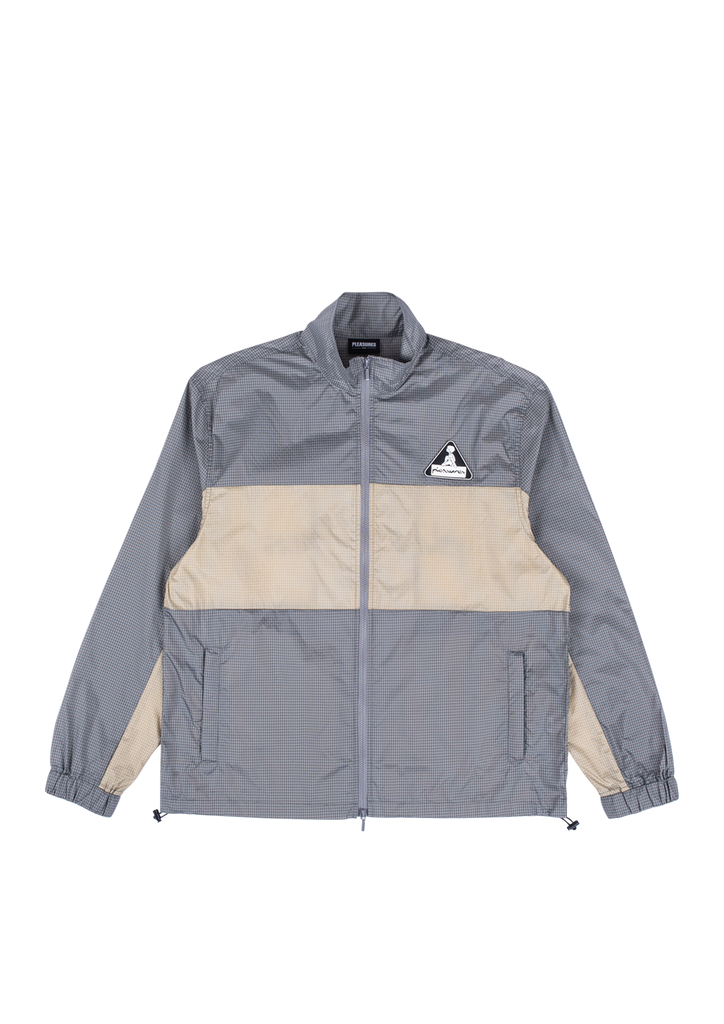 Brick Tech Track Jacket - Grey