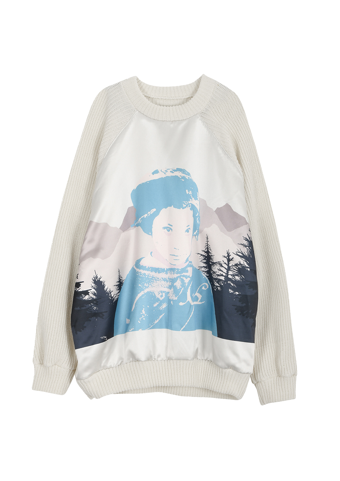 """The Nomad"" Artwork sweater"