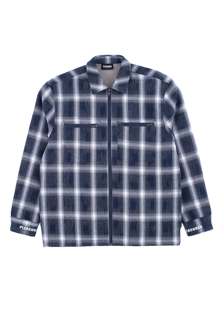 Sabbath Plaid Overshirt - Blue
