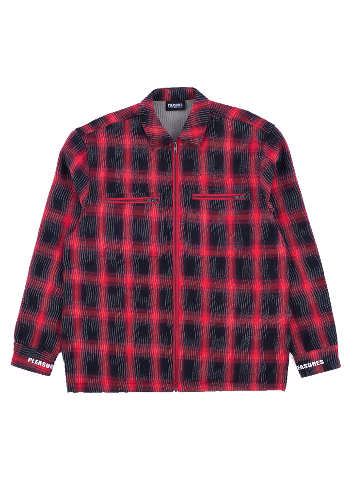 Sabbath Plaid Overshirt - Red
