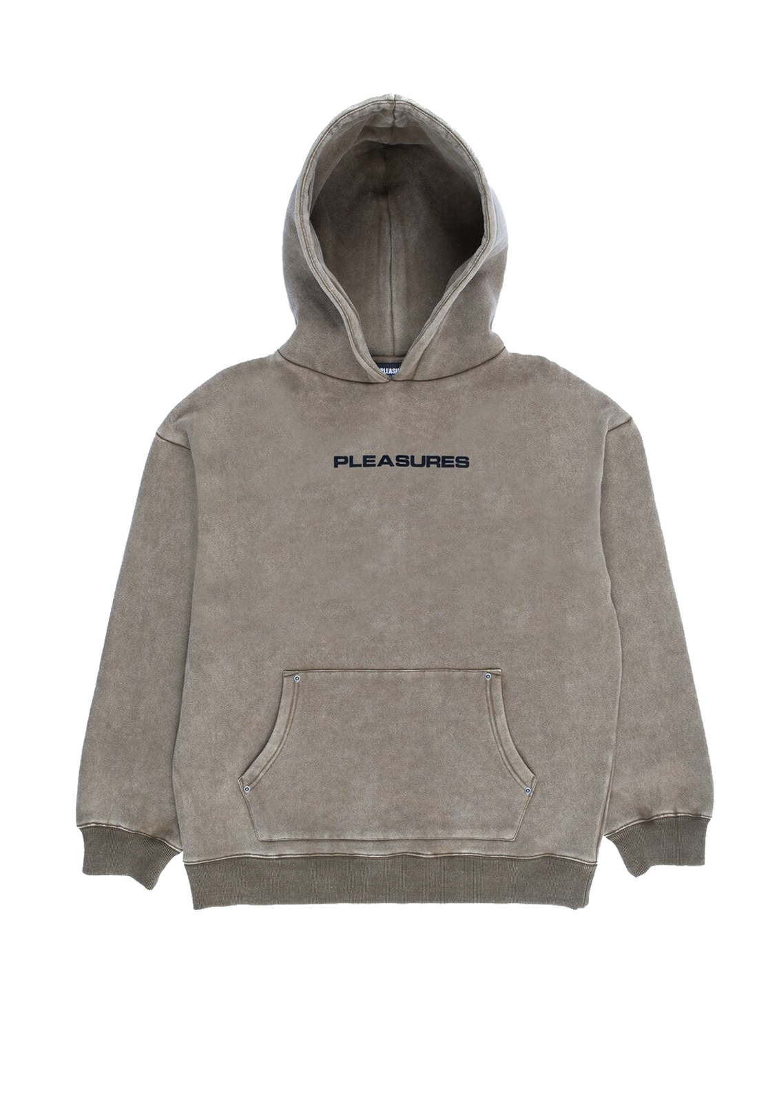 Burnout Dyed Hoody - Olive