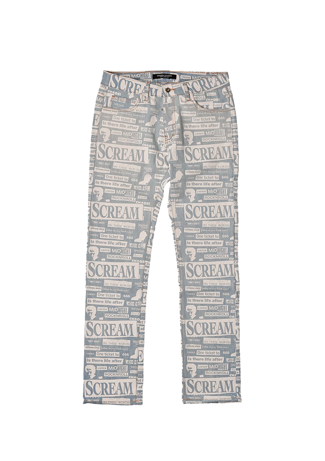 Collage Slim Fit Jeans