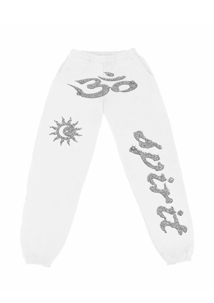 Ohm Sweatpants - White