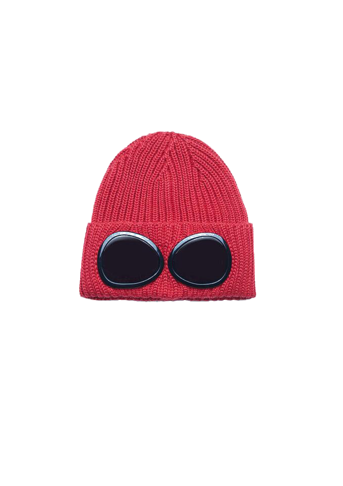 Goggle Beanie - Pompeian Red