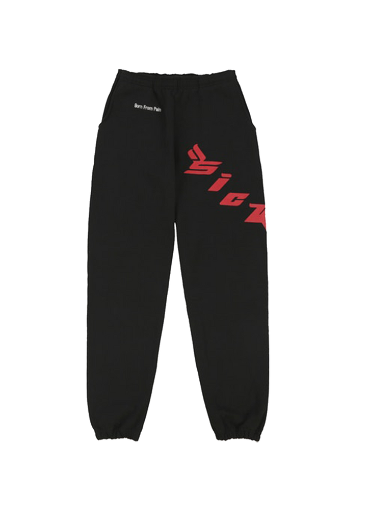 Born From Pain Sweatpants - Black