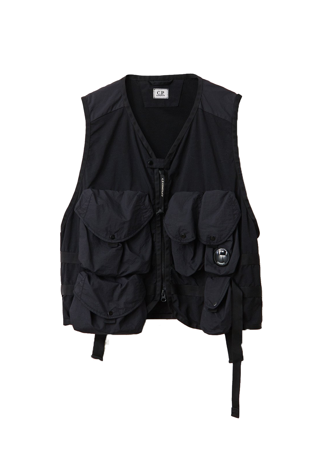 Taylon P Mixed Urban Protection Series Utility Vest - Black