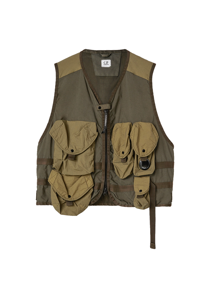 Taylon P Mixed Urban Protection Series Utility Vest - Ivy Green