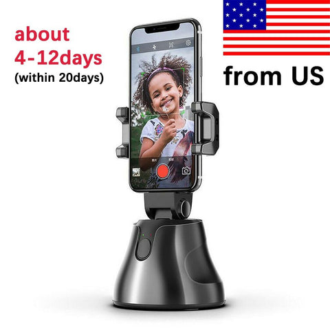 Smart Auto Tracking Phone Holder - Blue Tag Shop