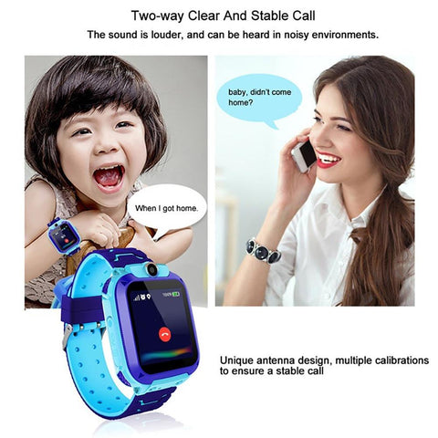 Kid's GPS Tracker Watch - Blue Tag Shop