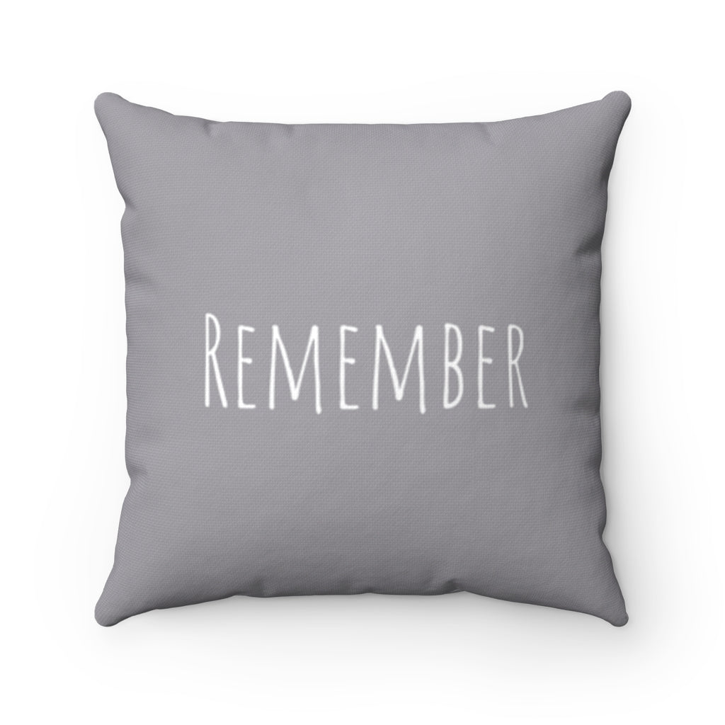 Remember - Light Gray