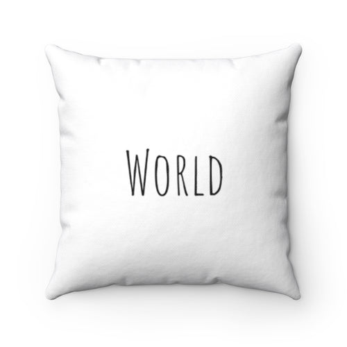 World - White
