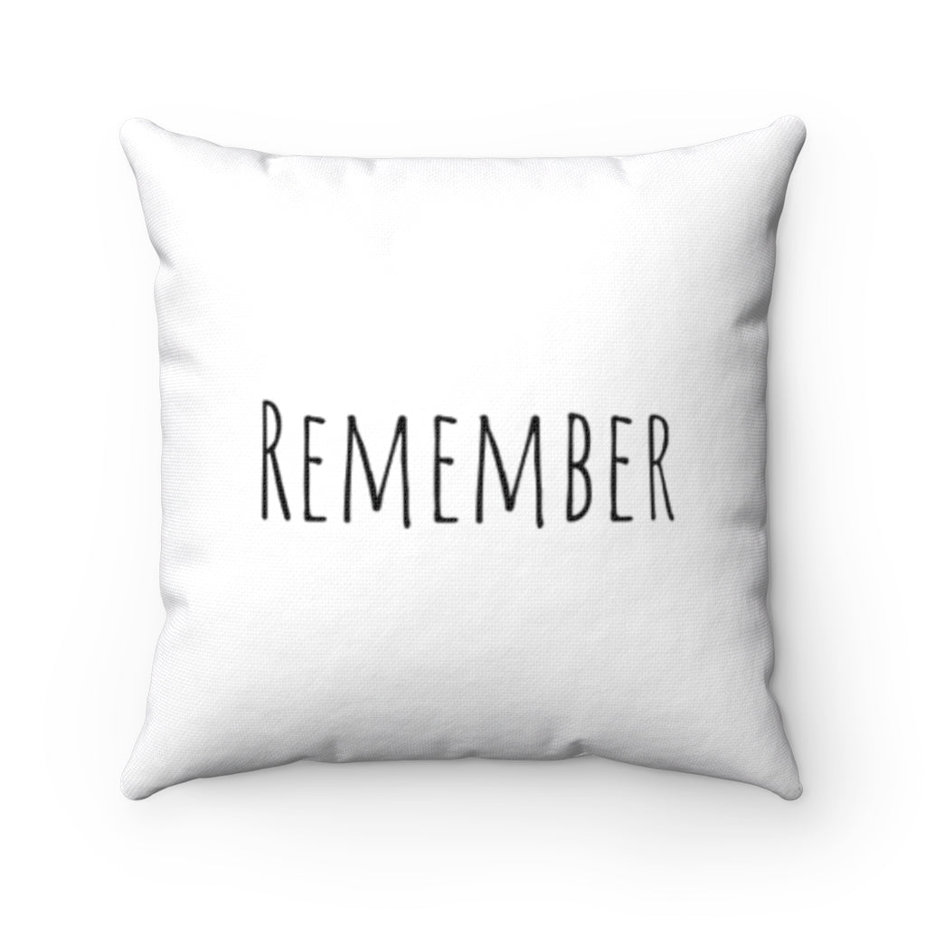 Remember - White