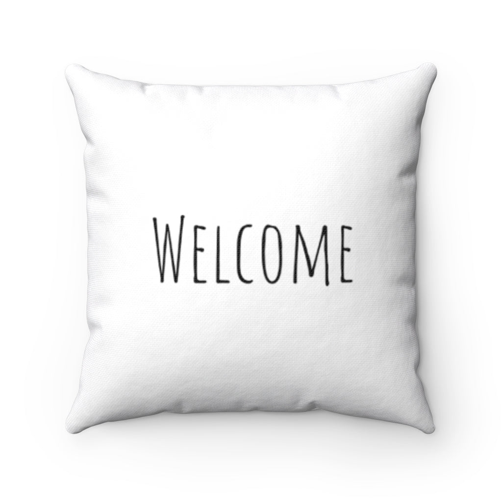 Welcome - White