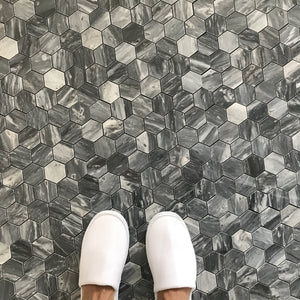 HEXAGON BARDIGLIO TILES