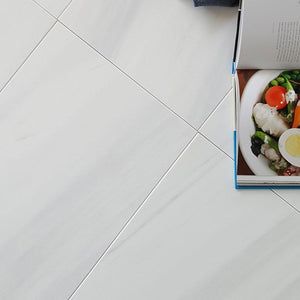 Bianco Dolomite Honed tile 12x24
