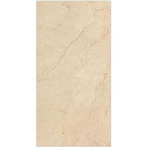 Crema Marfil 12x24 Honed Marble Tile