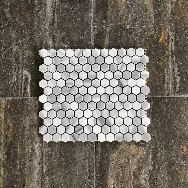 "Equator Hexagon 1"" Polished Mosaic"