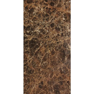 Dark Emperador 12x24 Polished Marble Tile