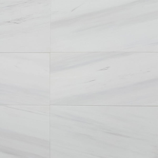 Bianco Dolomite Marble Dolomite 12x24 Honed / Polished Marble Tile