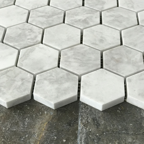 "Alicha Hexagon 2"" Polished Mosaic tile"