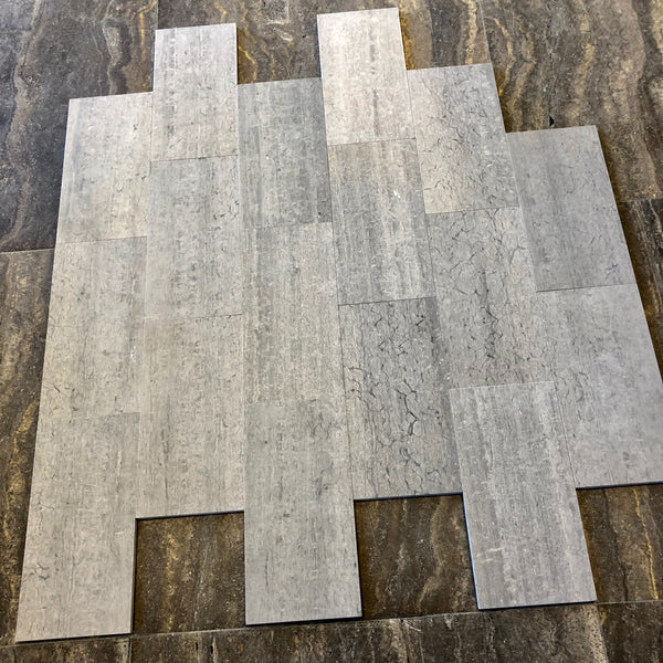 Bluewood 6x12 Honed Tile