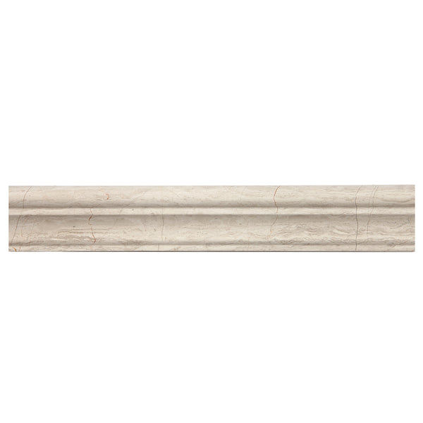 Timber White Marble Crown Chair Rail Moulding