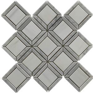 Casella Waterjet Mosaic Dolomite and Carrara