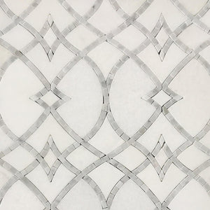 Lace II Mother Of Pearl Waterjet Mosaic