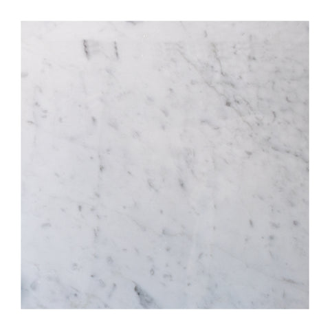 Bianco Carrara 12x12 Marble Tile Polished and Honed