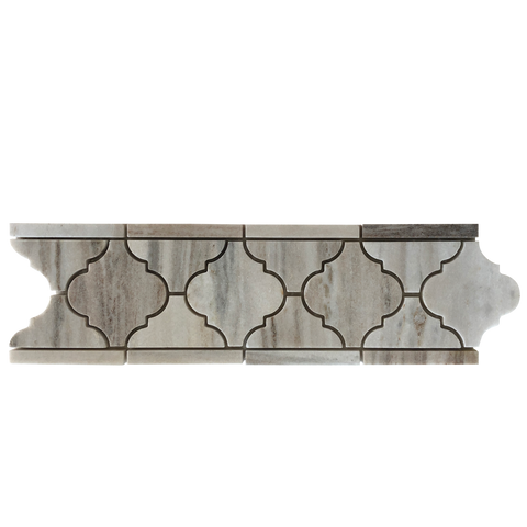 palissandro casablanca polished border