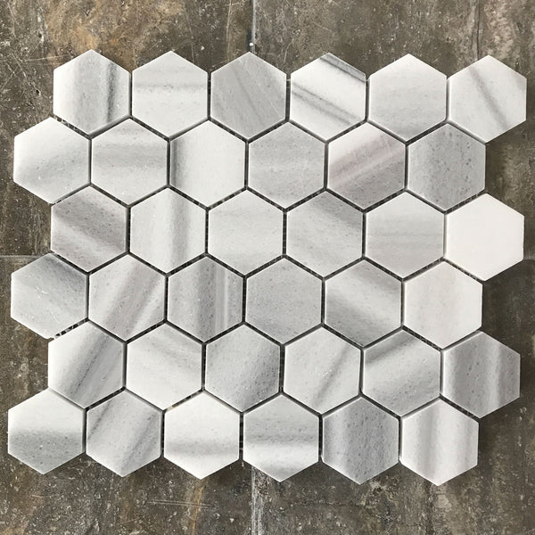 "Equator Hexagon 2"" Polished Mosaic"