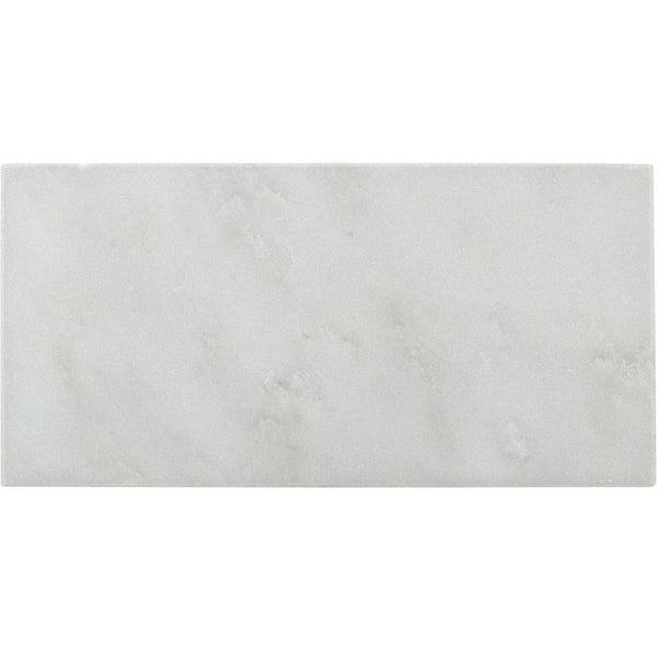 Arabescato Carrara 3x6 Honed and Polished Marble Subway Tile