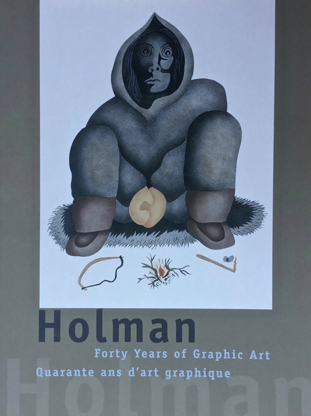 HOLMAN: FORTY YEARS OF GRAPHIC ART KALVAK NANOGAK