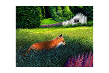 Load image into Gallery viewer, FOX ON THE RUN (print) - MARKUS NEAL HUMBY