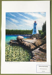 TOBERMORY BIG TUB LIGHTHOUSE (print) - MARKUS NEAL HUMBY