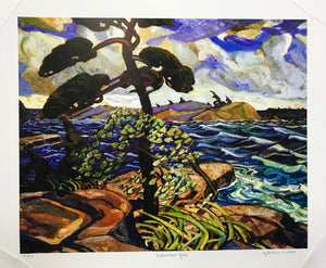 SEPTEMBER GALE (print)  ARTHUR LISMER